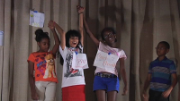 Theater Group Gets Youth Creativity Flowing