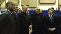 Cardinal Dolan and Bishop DiMarzio