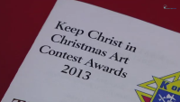 Students Illustrate True Meaning of Christmas