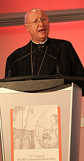 Archbishop Celli World Communications Day