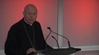 Archbishop Celli at World Communications Day in Brooklyn