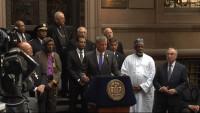 Faith Leaders with Mayor Bill DeBlasio