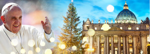 Celebrate Midnight Mass from St. Peter's Basilica in The Vatican - LIVE on 12/24 at 3:30 PM