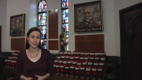 Katie Breidenbach at St Therese Parents Shrine