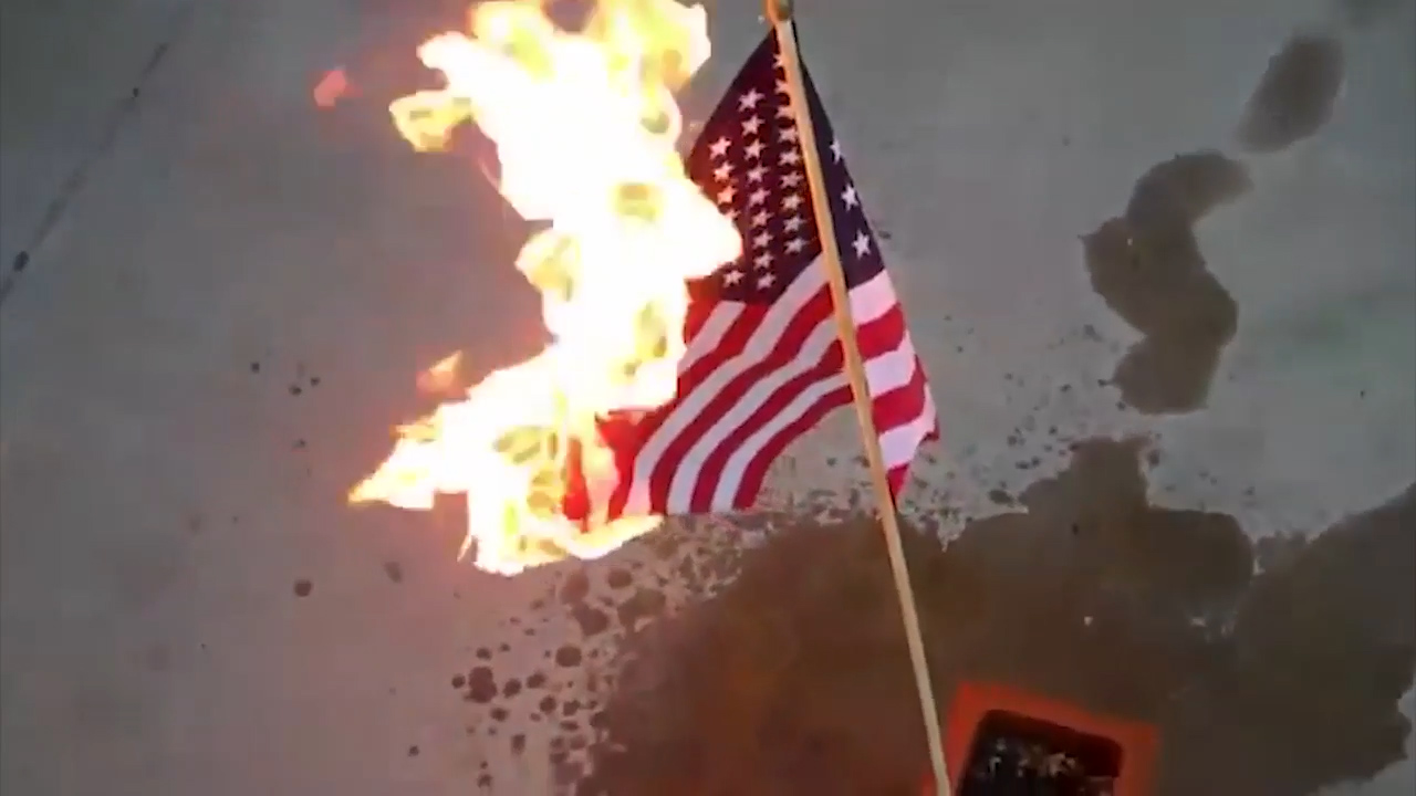 flag burning position paper to burn Flag burning is very common, but flags can also be spat upon, walked over, shot with guns or dragged through mud sometimes, flags may simply be used in unconventional manners they may be hung upside down or sideways some groups have even made toilet paper and napkins that bear images.