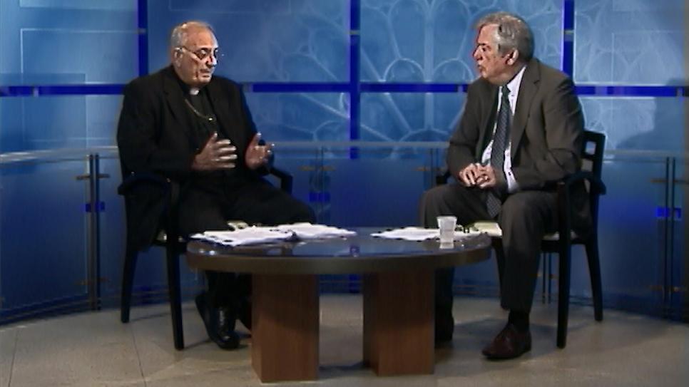 Bishop DiMarzio and Ed Wilkinson