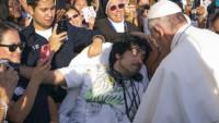 Gerard Gubaton and Pope Francis JFK