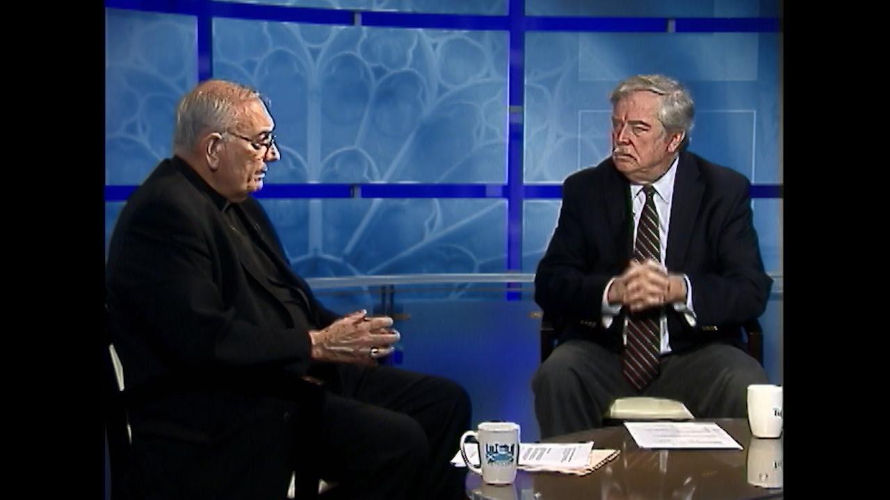 Bishop Nicholas DiMarzio and Ed Wilkinson