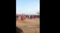 Pope Francis Uganda Airport 1
