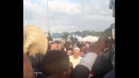 Pope Francis Uganda Airport Close 1