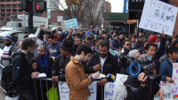 Uber Drivers Protest Price Cuts