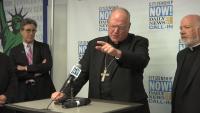 Cardinal Dolan Visits Citizenship NOW! Hotline
