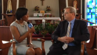 Liz Faublas Interviews Pat Garreaux, Pres. of Catholic Charities Cleveland