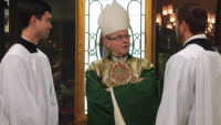 Queens Seminary Welcomes Albany Bishop