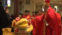 Chinese Catholics Celebrate Lunar New Year