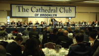 Cardinal Dolan Attends Cathedral Club Fundraiser