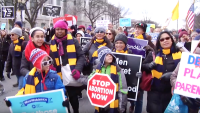 March For Life Coincides With Papal Trip