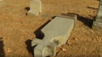 Catholic Cemetery Vandalized