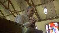 Catholic Church Guides Blind Woman
