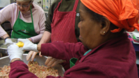 Brooklyn Center Prepares Thanksgiving Meals For Homeless