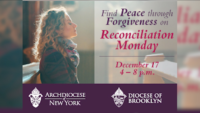 Find Peace Through Forgiveness on Reconciliation Monday