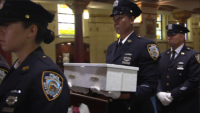Abandoned Baby Monica Mourned at Funeral at Our Lady of Perpetual Help