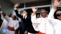 Pope Francis Bids Farewell to Madagascar, Travels Back to Rome
