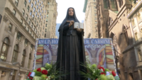 Brooklyn Diocese Celebrates Italian Pride With Mother Cabrini Float at Columbus Day Parade