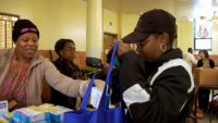 Catholic Charities Distributes Thanksgiving Meals to Those in Need