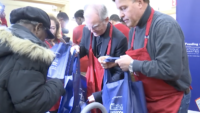 Catholic Charities Donates Hundreds of Thanksgiving Dinners