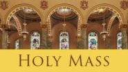 HOLY MASS AT THE CO-CATHEDRAL OF ST. JOSEPH (LIVE)