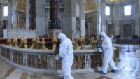 Rome Is Sanitizing Hundreds of Churches in Preparation for Resuming Public Masses