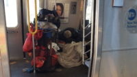 Homelessness on NYC Subway Worse Than Ever During Nightly Coronavirus Cleaning Closures