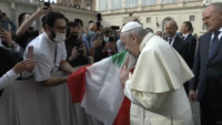 Pope's First Encounter With Pilgrims in Months: We Must Show Solidarity, 'Or Things Will Get Worse'