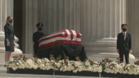 Ruth Bader Ginsburg Lies in Repose at Supreme Court as Politicians, Public Pay Respects