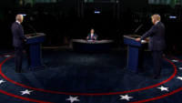 Trump and Biden Talk Catholic SCOTUS Pick, COVID, Racism at Contentious First Presidential Debate