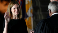 Justice Barrett Promises to Serve 'Without Fear or Favor'