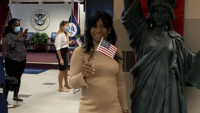 Brooklyn Woman Votes for the First Time Since Becoming an American Citizen