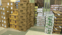 Catholic School Students Collect Tens of Thousands of Pounds of Food for Pantries as Need Increases