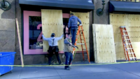 Businesses Board Up, Buildings Add Security Amid Fears of Potential Unrest Following Election