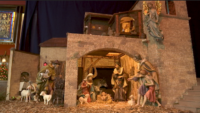Pope Francis Inspires Unique Nativity Scene at Corpus Christi Church in Woodside, Queens