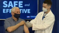 Vice President Mike Pence Receives COVID Vaccine on Live TV, Calls Production Speed a 'Medical Miracle'