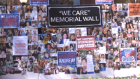 'We Care Memorial Wall' Pays Tribute to Those Who Died of COVID-19 in New York Nursing Homes