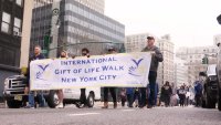 Fifth Annual International Gift of Life Walk Marches Down Broadway