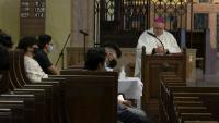 Despite the Pandemic, Bishop Nicholas DiMarzio's Annual Vocation Retreat Sees Record Attendance