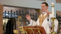 Father Christopher Heanue Leaves his First Parish at Holy Child Jesus