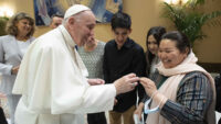 Pope Francis Meets Afghan Christian Families Who Fled The Taliban