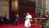 In Slovakia, Pope Francis Encouraged Priests to Shorten Their Homilies