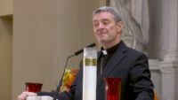 Bishop Robert Brennan Congratulated, Welcomed Back to New York in Diocese of Rockville Centre